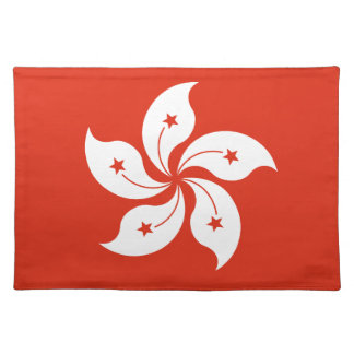 Low Cost! Hong Kong Flag Placemat