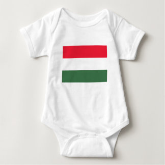 Low Cost! Hungary Flag Baby Bodysuit