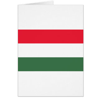 Low Cost! Hungary Flag Card
