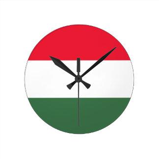 Low Cost! Hungary Flag Clocks