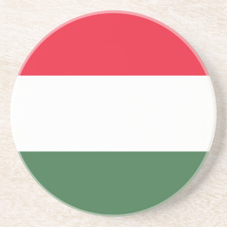 Low Cost! Hungary Flag Coaster