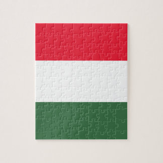 Low Cost! Hungary Flag Jigsaw Puzzle