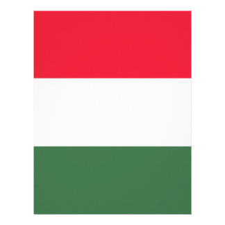 Low Cost! Hungary Flag Letterhead