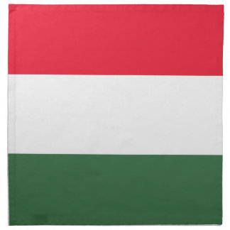 Low Cost! Hungary Flag Napkin