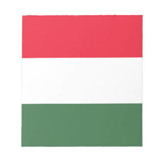 Low Cost! Hungary Flag Notepad