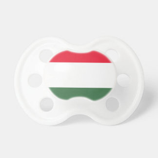 Low Cost! Hungary Flag Pacifier