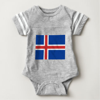 Low Cost! Iceland Flag Baby Bodysuit