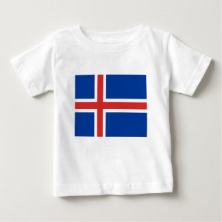 Low Cost! Iceland Flag Baby T-Shirt