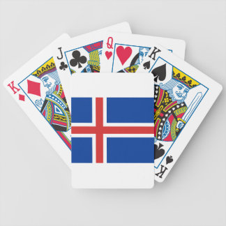 Low Cost! Iceland Flag Bicycle Playing Cards