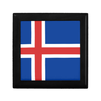 Low Cost! Iceland Flag Gift Box