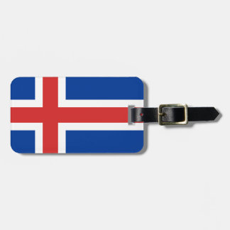 Low Cost! Iceland Flag Luggage Tag