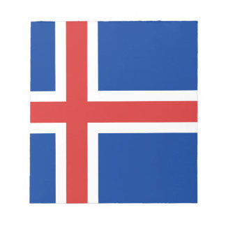Low Cost! Iceland Flag Notepad