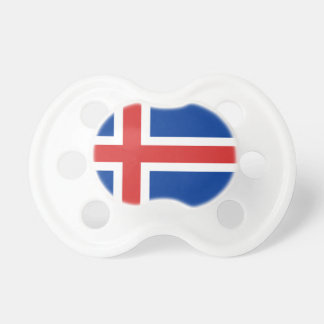 Low Cost! Iceland Flag Pacifier