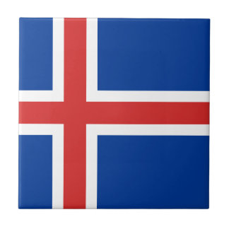 Low Cost! Iceland Flag Tile