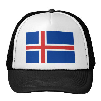 Low Cost! Iceland Flag Trucker Hat