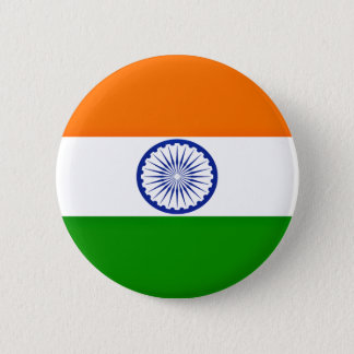 Low Cost! India Flag 2 Inch Round Button