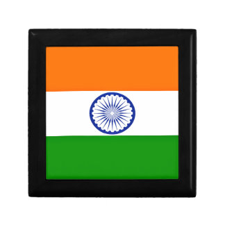 Low Cost! India Flag Jewelry Box