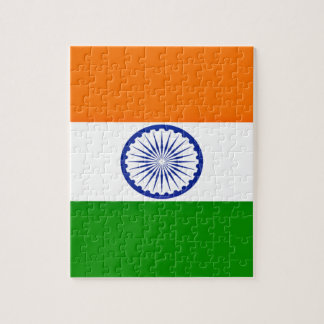 Low Cost! India Flag Jigsaw Puzzle