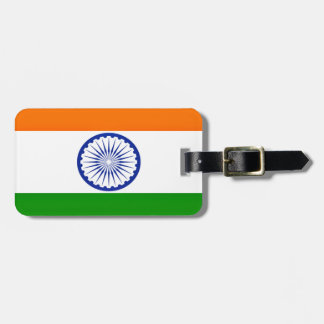 Low Cost! India Flag Luggage Tag