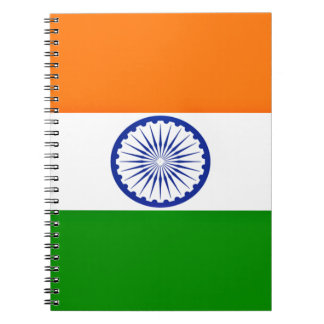 Low Cost! India Flag Notebook
