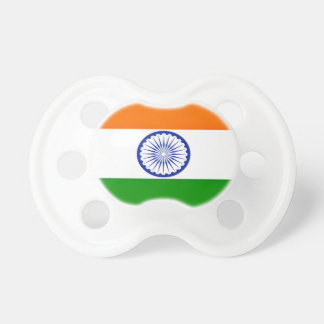 Low Cost! India Flag Pacifier