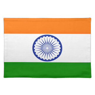 Low Cost! India Flag Placemat