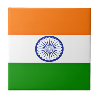 Low Cost! India Flag Tile