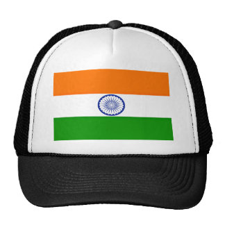 Low Cost! India Flag Trucker Hat