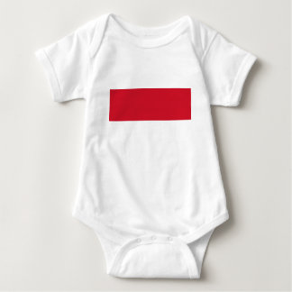 Low Cost! Indonesia Flag Baby Bodysuit