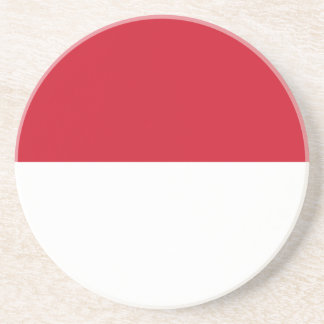 Low Cost! Indonesia Flag Coaster