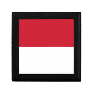 Low Cost! Indonesia Flag Gift Box