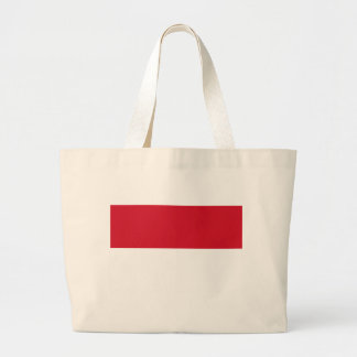 Low Cost! Indonesia Flag Large Tote Bag