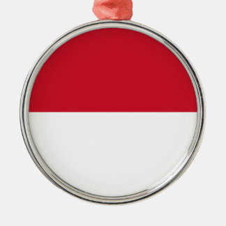 Low Cost! Indonesia Flag Metal Ornament