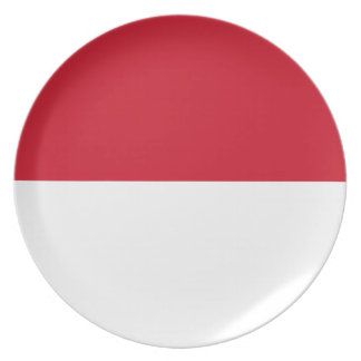 Low Cost! Indonesia Flag Plate