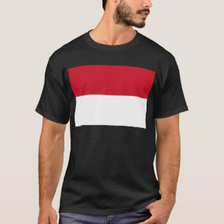 Low Cost! Indonesia Flag T-Shirt