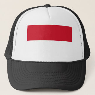 Low Cost! Indonesia Flag Trucker Hat