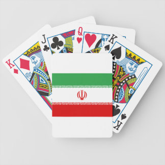 Low Cost! Iran Flag Bicycle Playing Cards