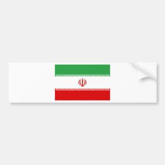 Low Cost! Iran Flag Bumper Sticker