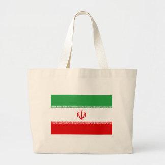 Low Cost! Iran Flag Large Tote Bag