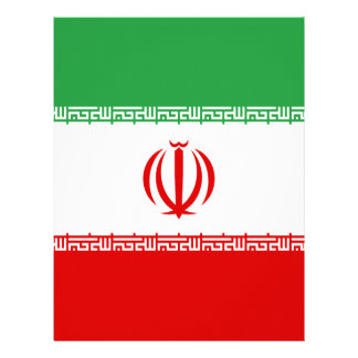 Low Cost! Iran Flag Letterhead