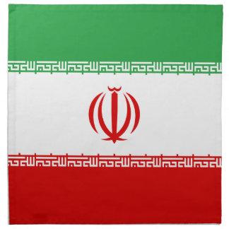 Low Cost! Iran Flag Napkin