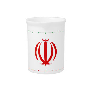 Low Cost! Iran Flag Pitcher