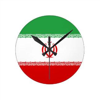 Low Cost! Iran Flag Wallclocks