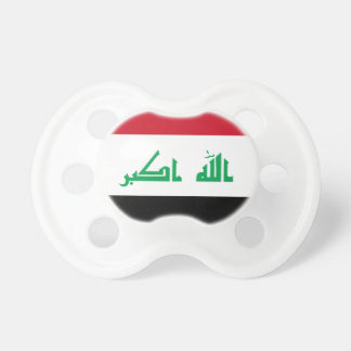 Low Cost! Iraq Flag Baby Pacifiers