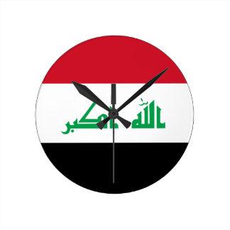 Low Cost! Iraq Flag Clocks
