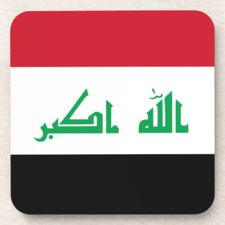 Low Cost! Iraq Flag Coaster