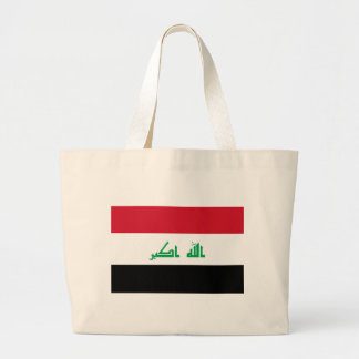 Low Cost! Iraq Flag Large Tote Bag