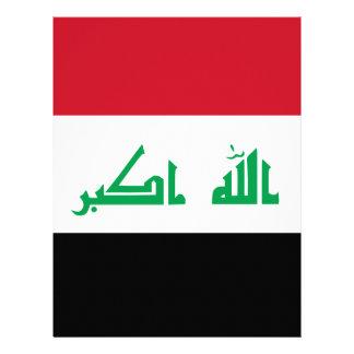 Low Cost! Iraq Flag Letterhead Template