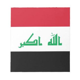 Low Cost! Iraq Flag Notepad