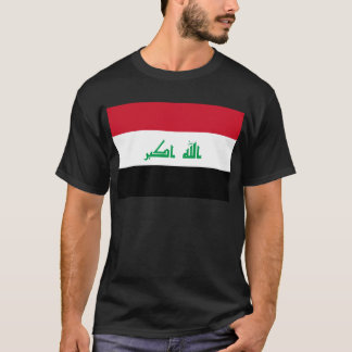 Low Cost! Iraq Flag T-Shirt